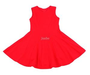 K1737 Knitted Dress red