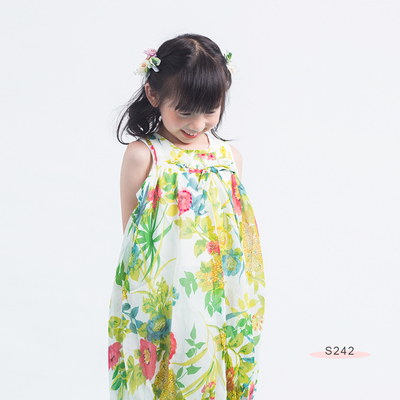 S242 Floral Printing Dress Floral