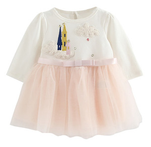 B1702 Baby cloud dress